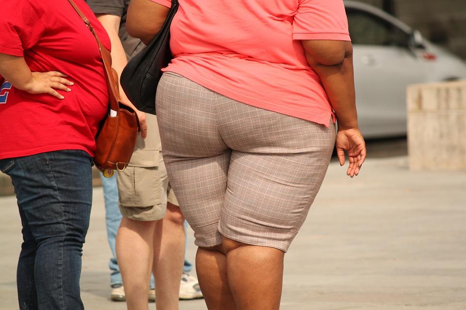 otyła osoba